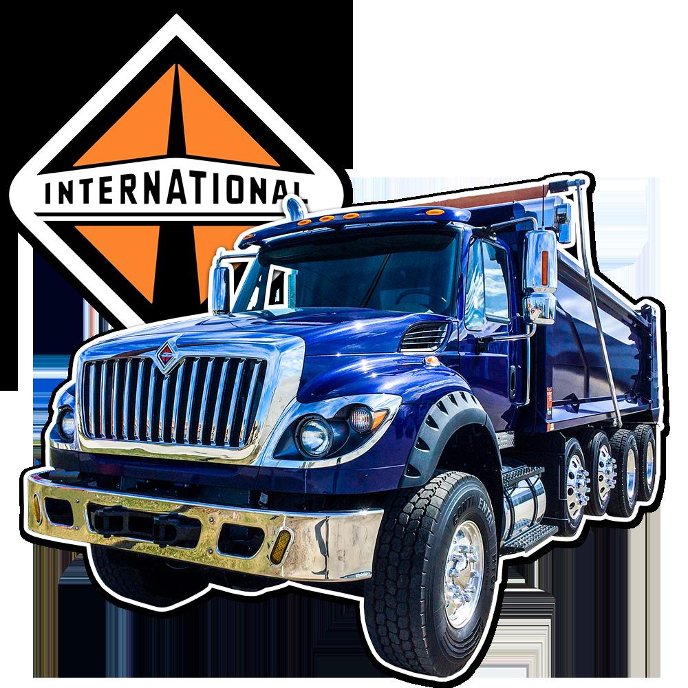 Packer City & UP International Trucks