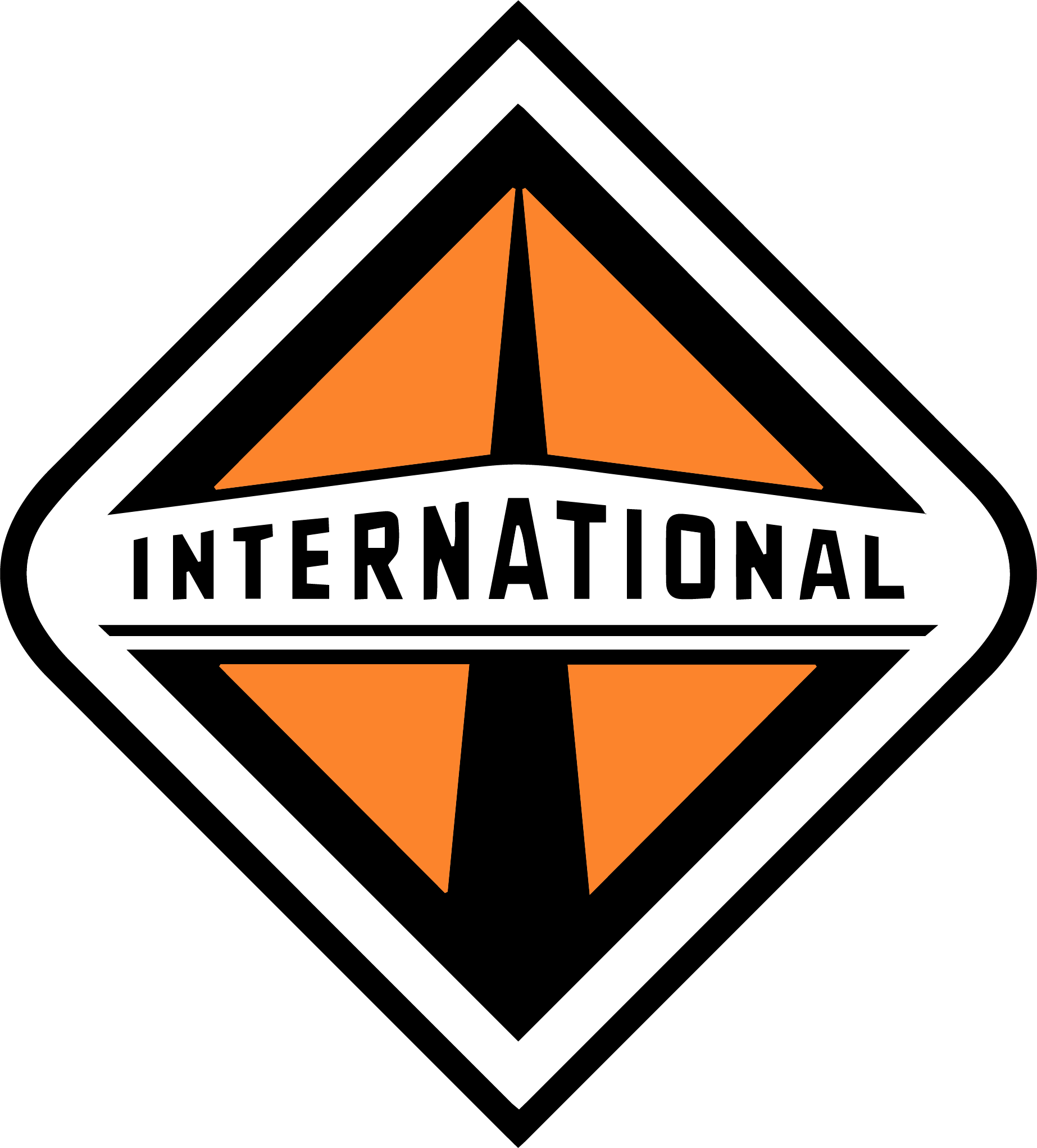 International Truck Logo Png Real Clipart And Vector